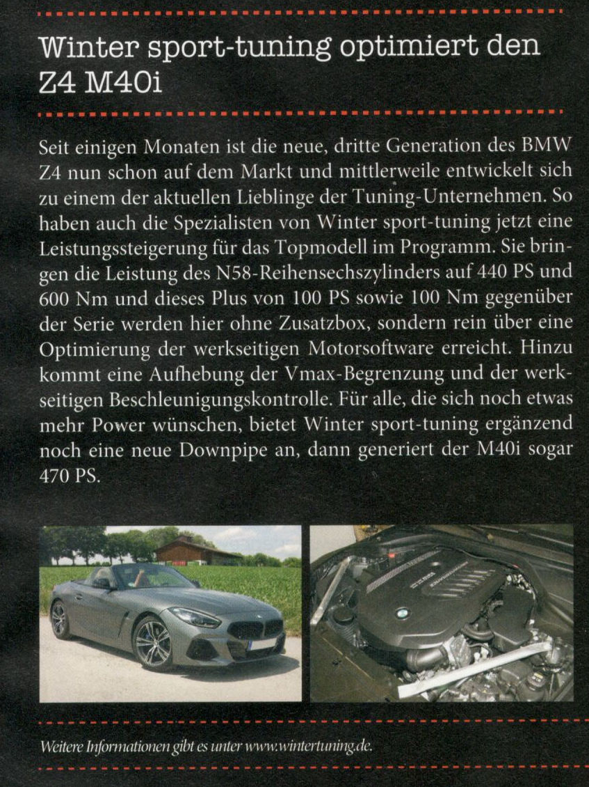 bmw power 5 19 z4 50