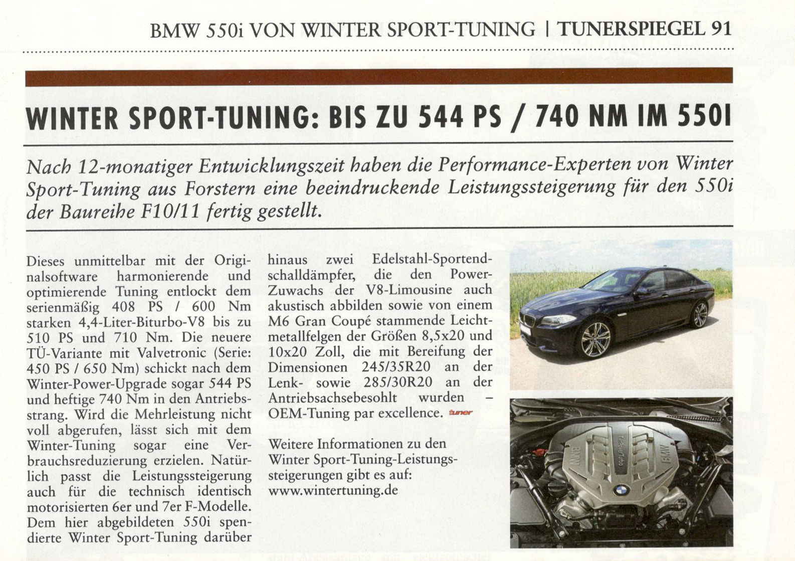 eurotuner 55oi winter